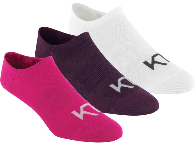 Kari Traa Hæl Socks Women 3 Pack Sweet